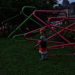 Allen Glatter Sculpture with Friend