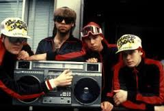 The Beastie Boys and Rick Rubin (second from left) around the time this story takes place.  In 1985, Rick wanted me to temporary take his role as DJ in the band.